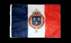 Flagge Frankreich mit königlichem Wappen