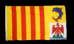 Flagge Frankreich Provence Alpes Côte d'Azur - 90 x 150 cm