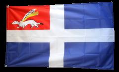 Flagge Frankreich Saint-Malo - 90 x 150 cm