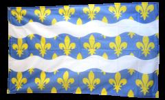 Flagge Frankreich Seine-et-Marne - 90 x 150 cm