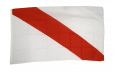 Flagge Frankreich Straßburg - 90 x 150 cm