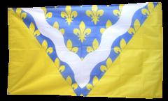 Flagge Frankreich Val-de-Marne - 90 x 150 cm
