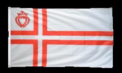 Flagge Frankreich Vendée St. Olavs Kreuz - 90 x 150 cm