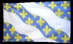 Flagge Frankreich Yvelines