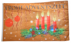 Flagge Frohe Adventszeit