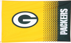 Flagge NFL Green Bay Packers Fan - 90 x 150 cm