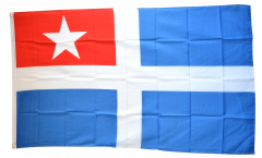 Flagge Griechenland Kreta - 90 x 150 cm