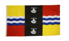 Flagge Großbritannien Bedfordshire - 90 x 150 cm