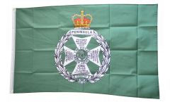 Flagge Großbritannien British Army Royal Green Jackets - 90 x 150 cm