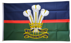 Flagge Großbritannien British Army Royal Welsh - 90 x 150 cm