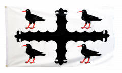 Flagge Großbritannien Flintshire - 90 x 150 cm