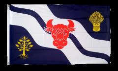 Flagge Großbritannien Oxfordshire neu - 90 x 150 cm