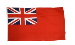 Flagge Großbritannien Red Ensign Handelsflagge