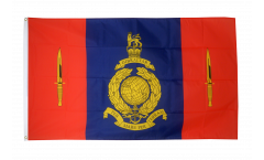 Flagge Großbritannien Royal Marines 45 Commando - 90 x 150 cm