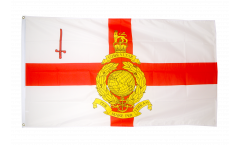 Flagge Großbritannien Royal Marines Reserve London - 90 x 150 cm