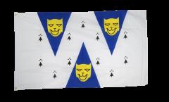 Flagge Großbritannien Shropshire - 90 x 150 cm