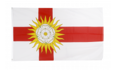 Flagge Großbritannien Yorkshire West Riding - 90 x 150 cm