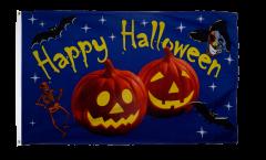 Flagge Halloween Happy Halloween Kürbis