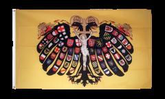 Flagge Heiliges Römisches Reich Deutscher Nation Quaterionenadler