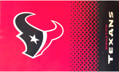 Flagge NFL Houston Texans Fan - 90 x 150 cm