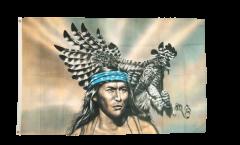 Flagge Indianer Adler