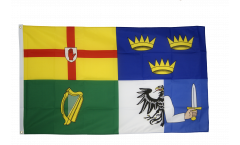 Flagge Irland 4 Provinzen