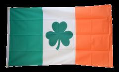 Flagge Irland mit Shamrock Symbol - 90 x 150 cm