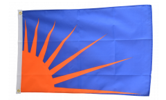 Flagge Irland Sunburst