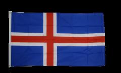 Flagge Island - 90 x 150 cm