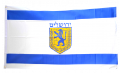 Flagge Israel Jerusalem