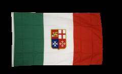 Flagge Italien Handelsflagge