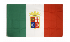 Flagge Italien Marine