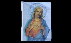 Flagge Jesus mit Stern
