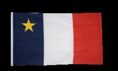 Flagge Kanada Akadien