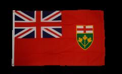 Flagge Kanada Ontario