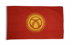 Flagge Kirgisistan Kirgistan