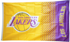 Flagge NBA Los Angeles Lakers - 90 x 150 cm