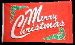Flagge Merry Christmas - 90 x 150 cm