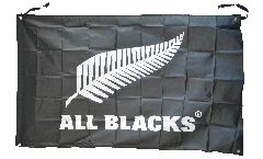 Flagge Neuseeland ALL BLACKS - 90 x 150 cm