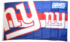 Flagge NFL New York Giants Logo - 90 x 150 cm