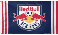 Flagge MLS New York Red Bull - 90 x 150 cm