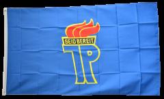 Flagge Pionierorganisation Ernst Thälmann DDR - 90 x 150 cm