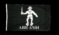 Flagge Pirat Abh Amh - 90 x 150 cm