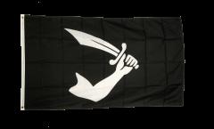 Flagge Pirat Arm mit Schwert