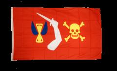 Flagge Pirat Christopher Moody - 90 x 150 cm
