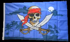 Flagge Pirat dunkle Nacht - 90 x 150 cm