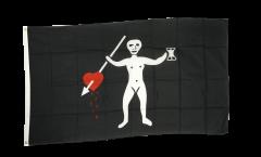 Flagge Pirat John Quelch - 90 x 150 cm