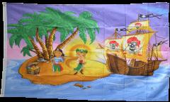 Flagge Pirat Kinderpiraten Schiff