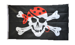 Flagge Pirat one eyed Jack - 90 x 150 cm