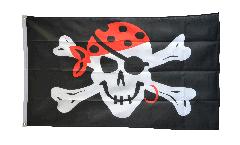 Flagge Pirat one eyed Jack